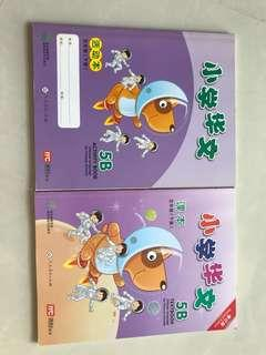 5B Chinese Textbook and Activity book