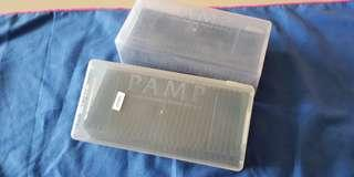 2 x PAMP Secure Storage Box for 25 pcs