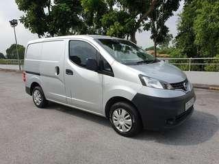 Cheapest Long Term Rental Nissan NV200 1.5M