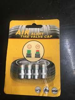 Air alert tire valve cap