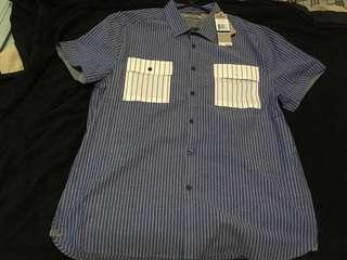 Original/Brandnew Kenneth Cole Button Down Polo (XL)