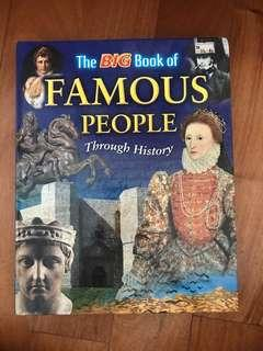 The BIG Book of FAMOUS PEOPLE Through History