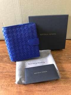 🚚 BNIB Bottega Veneta Mini Wallet in Cobalt Blue