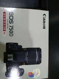 Canon 750d wifi all complete set with tripod 99% new