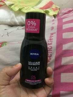 Nivea MicellAIR skin breathe xpert make up remover face-eyes micellar water