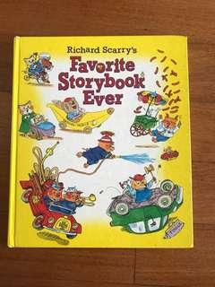 Richard Scarry's FAVOURITE STORYBOOK EVER