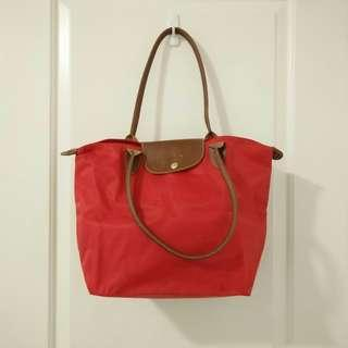 LONGCHAMP Le Pliage Type M Modele Depose Folding Tote Bag