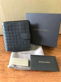 🚚 BNIB Bottega Veneta Mini Wallet in Ardoise