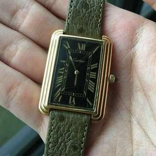 [SOLD] Cartier Tank 1970s Oversized Manual Wind
