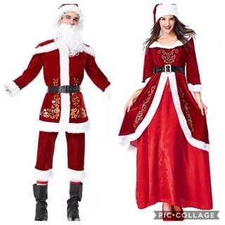 IN STOCK Santa Claus Costume Santarina Christmas Costume