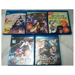 [ANIME DVD][READY STOCK] 2 DVD FOR RM10 - PRICE NOT INCLUDE POSTAGE YET.
