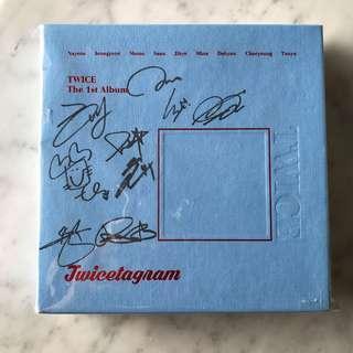 twicetagram 비매 signed album