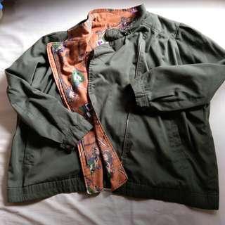 Oversized Bomber/Biker Jacket