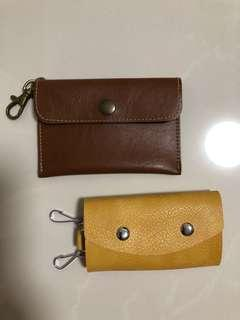 BN key holder and coin pouch