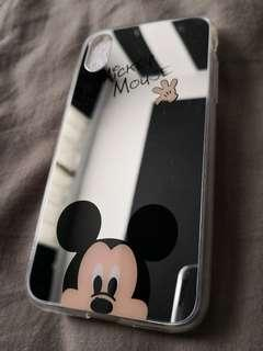 Mickey Mouse Mirror iPhone X Case