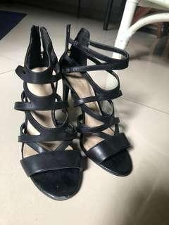 [REPRICE] Marks & Spencer Autograph Leather High Heel Sandal