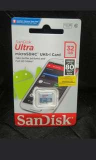 🚚 SanDisk 32gb Micro SD Card