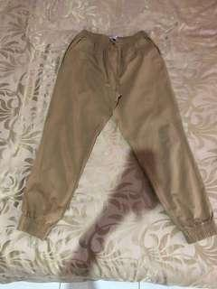 [PRELOVED - F] ERIGO Khaki Jogger Pants