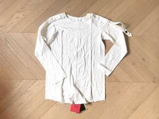 全新 Y's Yohji Yamamoto military tape tee top 長袖衫 sacai toga