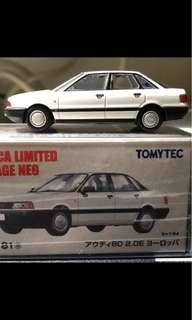 Tomica Limited Vintage tomytec LV-N81a Audi 2.0E Europe 罕 1:64