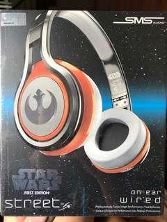 SMS Audio STREET by 50 On-Ear Wired Headphones Star Wars First Edition Rebel Alliance