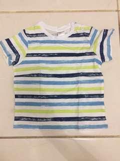 Baju n celana baby 1 set 7-12 bln