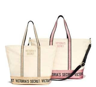 Sparkle Tote and Weekender