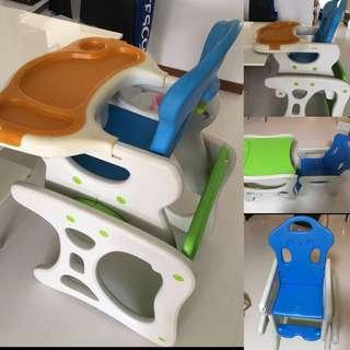Lucky baby high chair 2 in 1 .