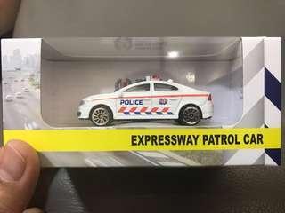 Expressway patrol car to trade with emergency response team vehicle