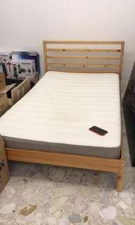 Single bed and frame