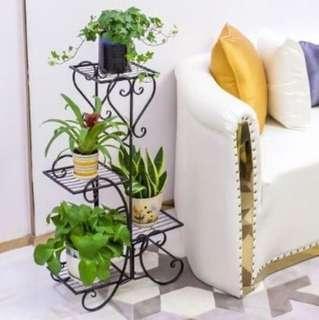 Plant Rack Flower Pot Stand Gardening Storage Organiser