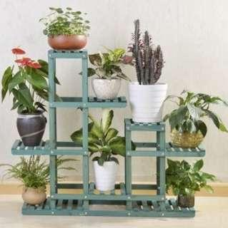 Flower Pot Rack Plant Storage Shelf Gardening Organiser