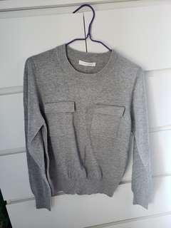 Collect Point Lowrys Fram 灰色線衫