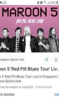 Helping to buy maroon 5 red pill blues tour tickets