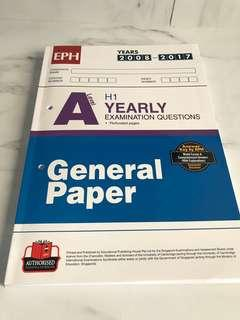 General Paper Ten Year Series [2008-2017]
