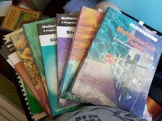 Canotta Mathematics today 2A, 2B, 3A, 3B, 4A