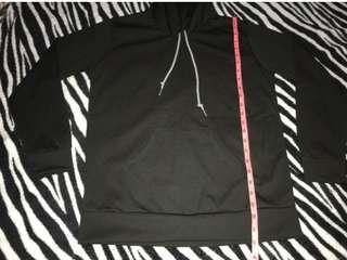Unisex Pull Over Hooded Jacket