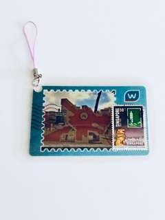 Unique Stamp Artwork Bookmark Accessory