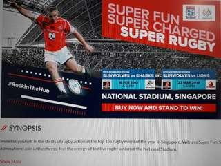 Helping to buy 2019 mitsubishi estate super rugby tickets