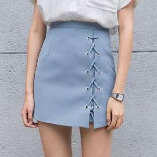 Laced Up Skirt