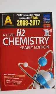 Chemistry A'Levels Ten Year Series (2008-2017)