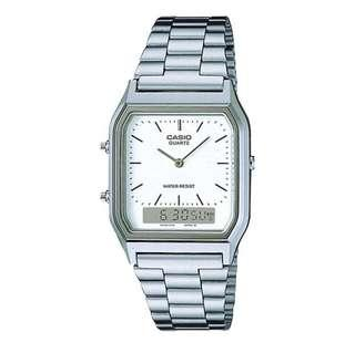 AUTHENTIC CASIO VINTAGE YOUTH SILVER