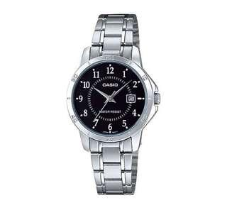AUTHENTIC CASIO WOMENS SILVER