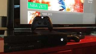 Xbox One console + One controller + One Game