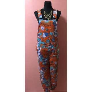 💎Rodeo Crowns Orange Paisley Jumpsuit/Jumper💎