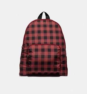 Pre-order: COACH PACKABLE BACKPACK