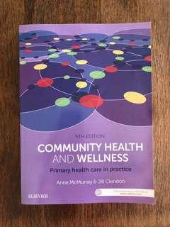 Community health and wellness primary healthcare in practice