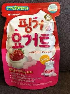 韓國士多啤梨乳酪糖