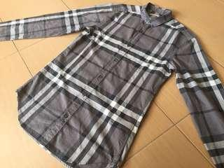 Authentic Burberry Brit long sleeve shirt made in peru