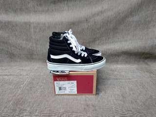 Vans Kids Sk8 Black White